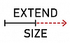 EXTEND SIZE